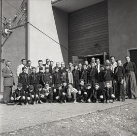 Group of boys and men
