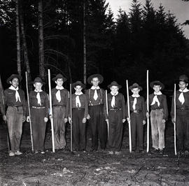 Group of boys [Scouts?]