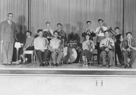 Howe Sound Secondary School Band, 1951 - 1952