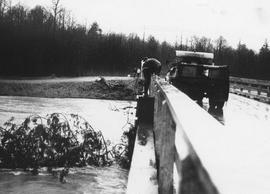 Flooded road 1962