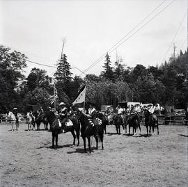 Ceremony with horses