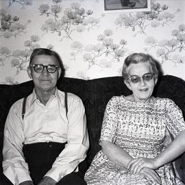 Man and woman on couch