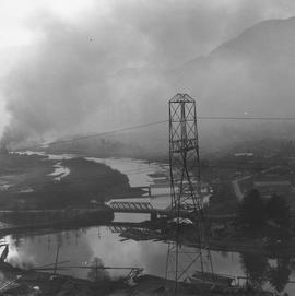 Aerial view of Squamish, 1963