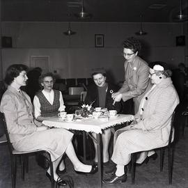 Women having tea