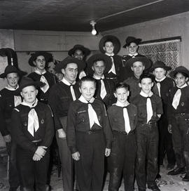 Group of Boy Scouts