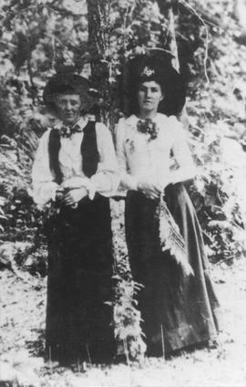 Mrs Alice Rose and Barbara Edwards