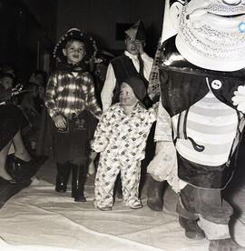 Children at costume party
