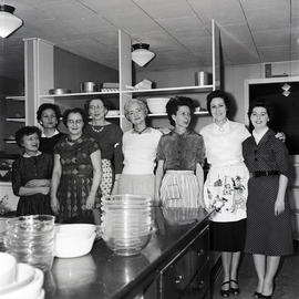 Group of women in kitchen