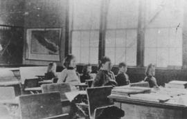 Interior of Brackendale School (1904 - 1925)