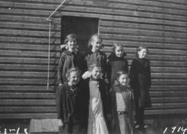 Lower Squamish School 1914 class picture