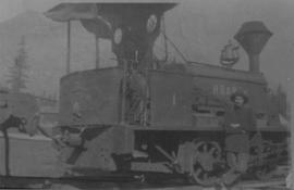 Howe Sound & Northern Railway's first locomotive