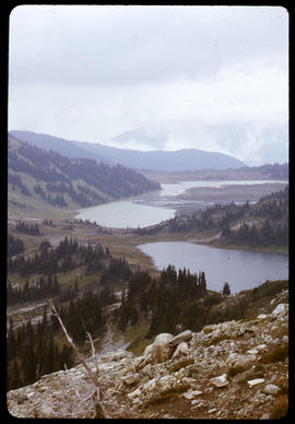 Black Tusk and Helm Lake