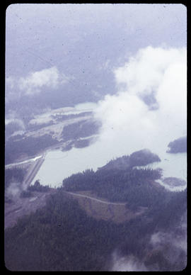 Dam from plane