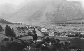 Aerial view of Lillooet