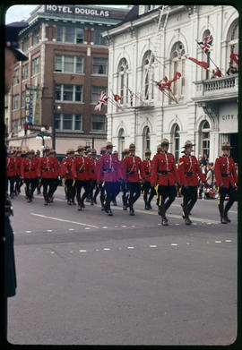 Mounties in parade