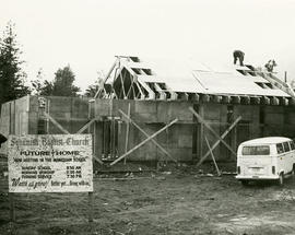 Squamish Baptist Church under construction
