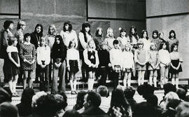 The junior choir
