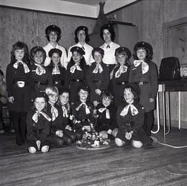 Group of Girl Guides or Brownies