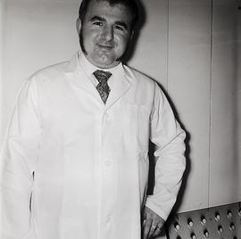 Man in labcoat