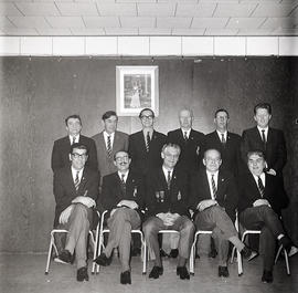 Group portrait of men