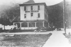 Squamish Hotel in the 1930s