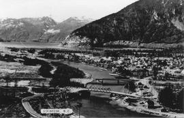 Squamish as seen from Hospital Hill in 1964