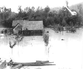 Judd residence, flood 1906