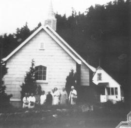 Trinity Church - Woodfibre, BC