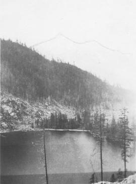 Alice Lake after logging, 1935