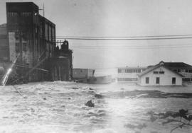 Woodfibre flood - December 1963