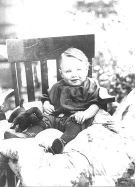 Jim Armstrong as a child