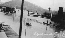 Squamish Flood, October 1940