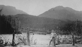 Squamish River during 1940 flood