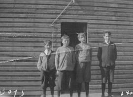 In front of Lower Squamish School - 1914