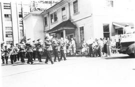 Brass Band in Labour day Parade, 1950