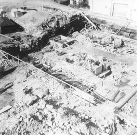 Woodfibre Plant construction, 1960