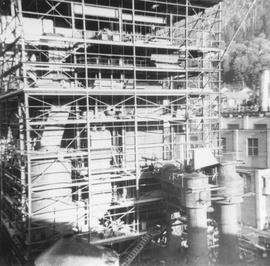Woodfibre Plant construction, 1961