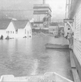 Woodfibre Flood, 1963