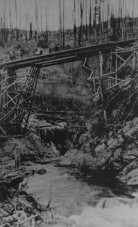 Merrill & Ring Bridge over the Mamquam River, 1928