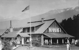 """Rainbow Lodge"" at Alta Lake, 1940"