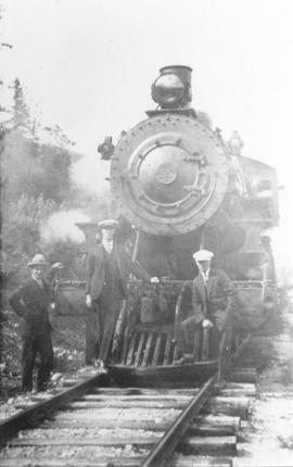 PGE 55 locomotive at Alta Lake