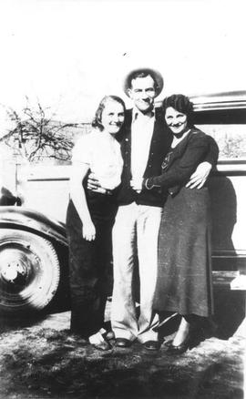 Gerty Wilson, Stanley Goad, and Mary Goad