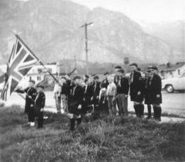 Anglican Church Cub Scouts, May 1961