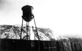 The old water tank on Loggers Lane