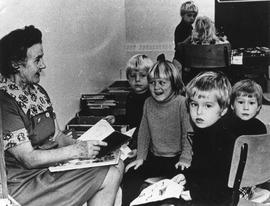 Freda Clarke involved in Story Hour